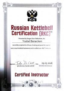 Bella RKC Zertifikat